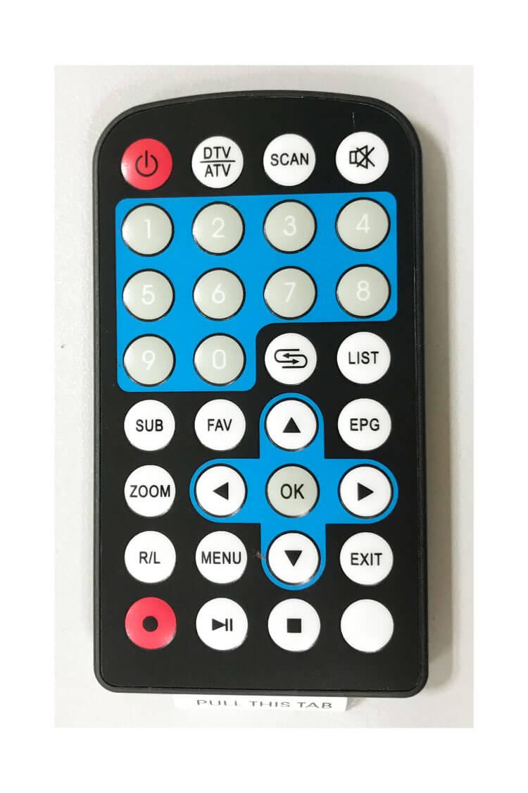 car dvb-t remote control