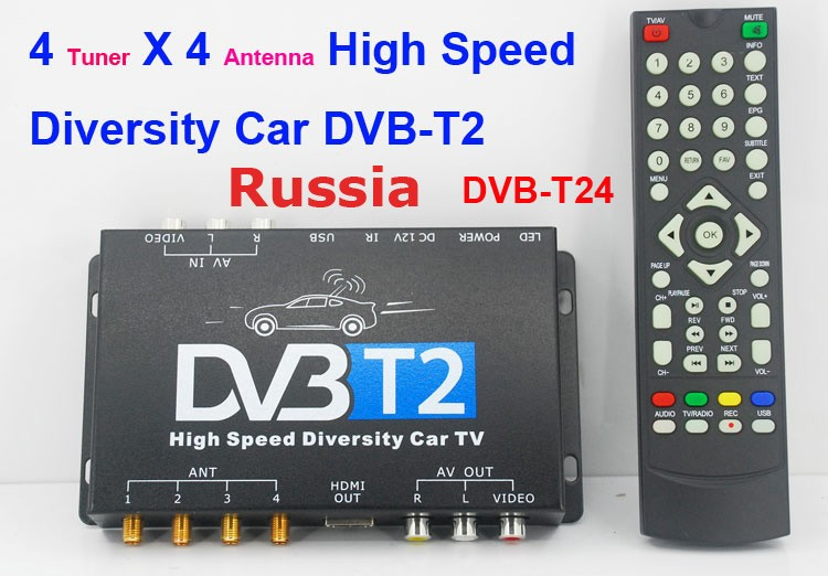 Russia DVB-T2 TV channels