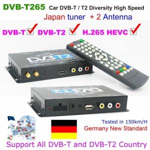 Deutschland Auto DVB-T2 H265