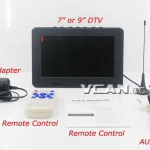 USB TF MP5 player AV in Rechargeable Battery