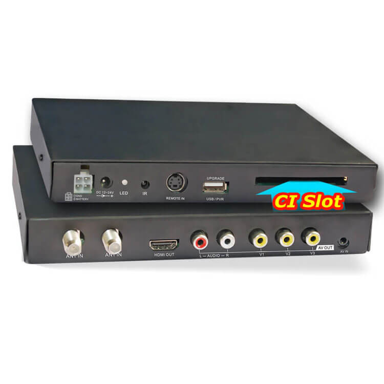 Car DVB-T2 CI