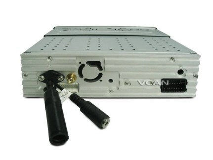 VCAN0777 Car One Din DVD Player Support Multimedia System back 750