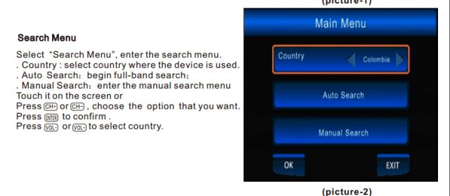 ATSC Car TV Digital receiver for USA Canada Mexico ATSC-201 2 -
