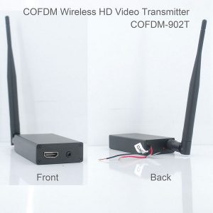 COFDM 902T HDMI Wireless Video Transmitter 1080P 720P CVBS RCA input 2