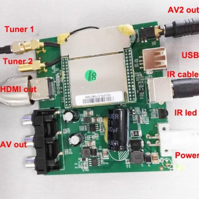 Car ISDB-T 2 tuner