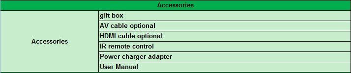 VCAN1170 IPTV box Android 4.4.2 OTT DVB-T2 Supports H.265-H.264 full HD HDMI stick 7 -