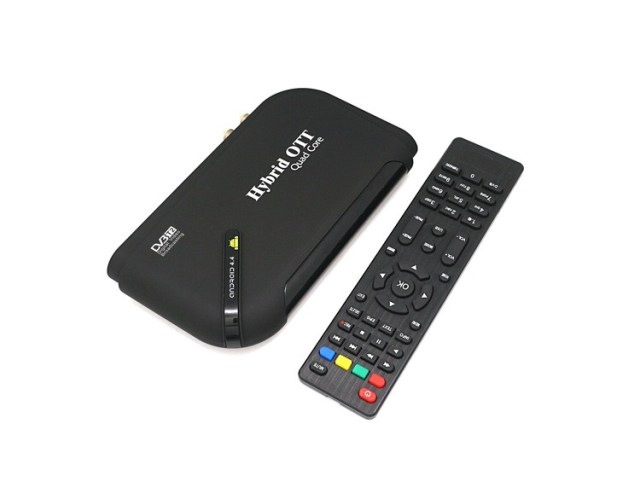 IPTV box Android 4.4.2 OTT DVB-T2 Supports H.265-H.264 full HD HDMI stick