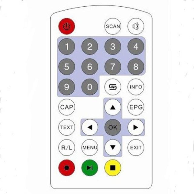 One seg auto mobile tv tuner MPEG car tv receive box ISDB-T5009