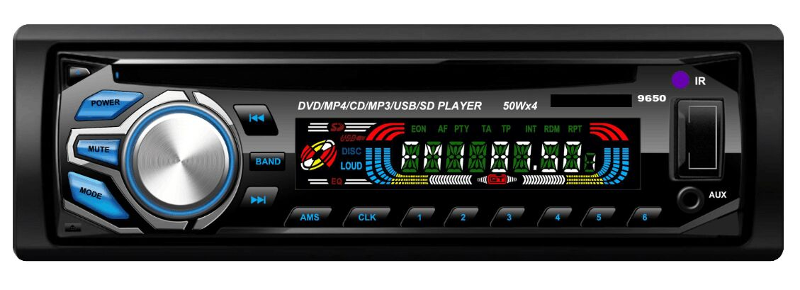 One Din DVD player Vcan1236c