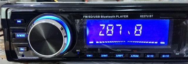 Fixed Panel Car MP3 USB SD FM Bluetooth RDS  MP3-6227 16 -