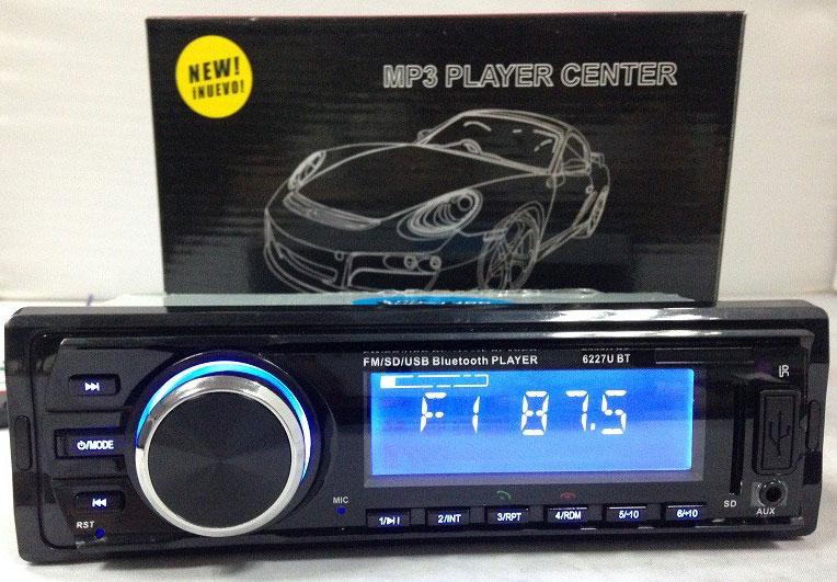 Fixed Panel Car MP3 USB SD FM Bluetooth RDS MP3-6227 17 -