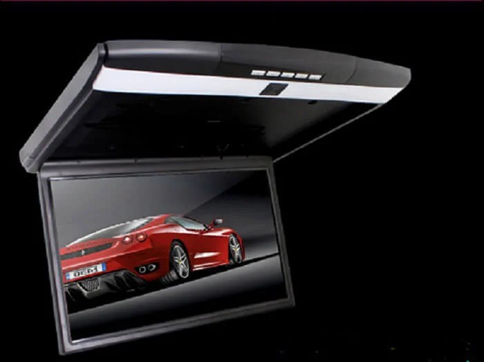17.3 inch car roof mount HDMI monitor USB SD HDMI player