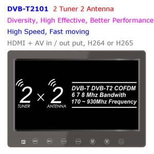 Diversity dvb-t cofdm 10.1 inch