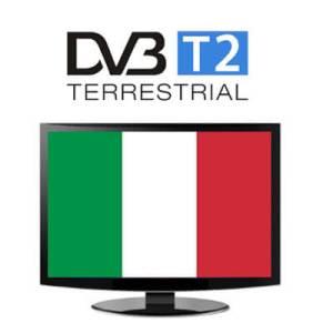 อิตาลี DVB-T2