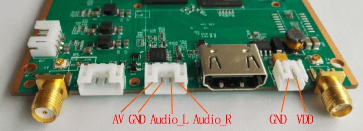 Decode Board Power AV output