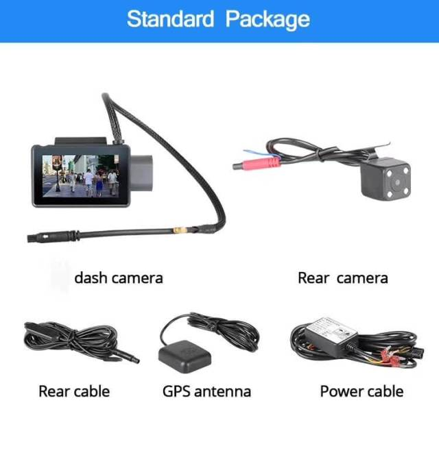 Android Dash Cam Car DVR Camera GPS Logger 3G WiFi Dual Lens WDR Video Recorder 5.1 Rearview camera Vcan1608 14 -