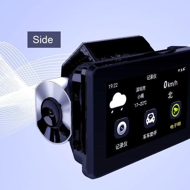 Android DVR dashcam car camera 3.0 inch full 1080 HD GPS logger dual camera video recorder Vcan1608 16 -