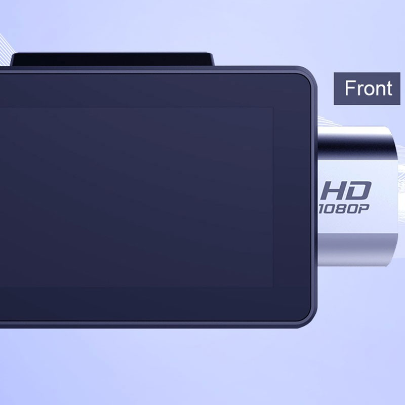 Android DVR dashcam car camera 3.0 inch full 1080 HD GPS logger dual camera video recorder Vcan1608 9 -