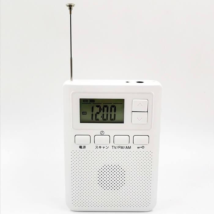 One seg AM FM RADIO Pocketv ISDB-T tv one segment radio with clock 5 -