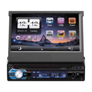 7 inch one din DVD player