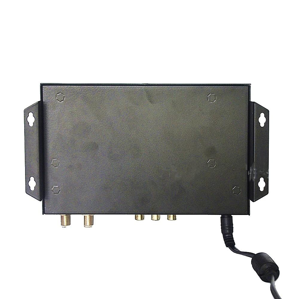 ISDB T modulator encoder Digital HDMI CVBS in DVB T ISDB T RF out Converter bottom view