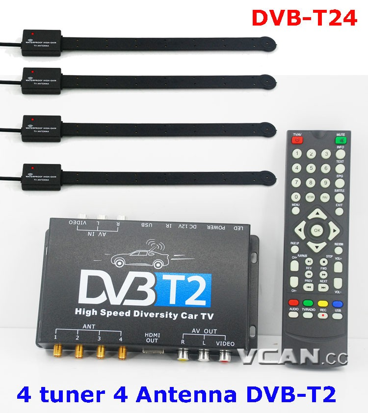 DVB-T2 Quad