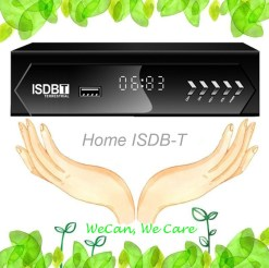 ISDB-T Home set top box isdbt isdbtr isdb-tp
