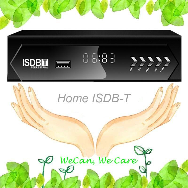 ISDB-T Home set top box isdbt isdbtr isdb-tp