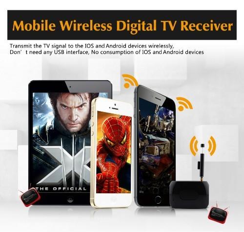 Mobile Phone WIFI TV wireless DVB-T ISDB-T digital receiver