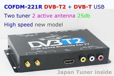 COFDM-221R HD Wireless Video Receiver COFDM AV 1080P Transmission image Transceiver CVBS 170~900Mhz 1