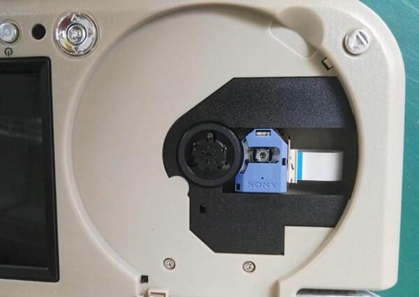 7 inch sun visor DVD player sunvisor left right side USB SD movie player black grey beige factory promotion TM-6686 7010 36