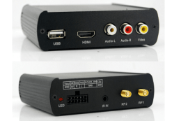 Car ISDB-T 2 tuner Full Segment dual antenna for Brazil Philippines Chile ISDB-T8800 3