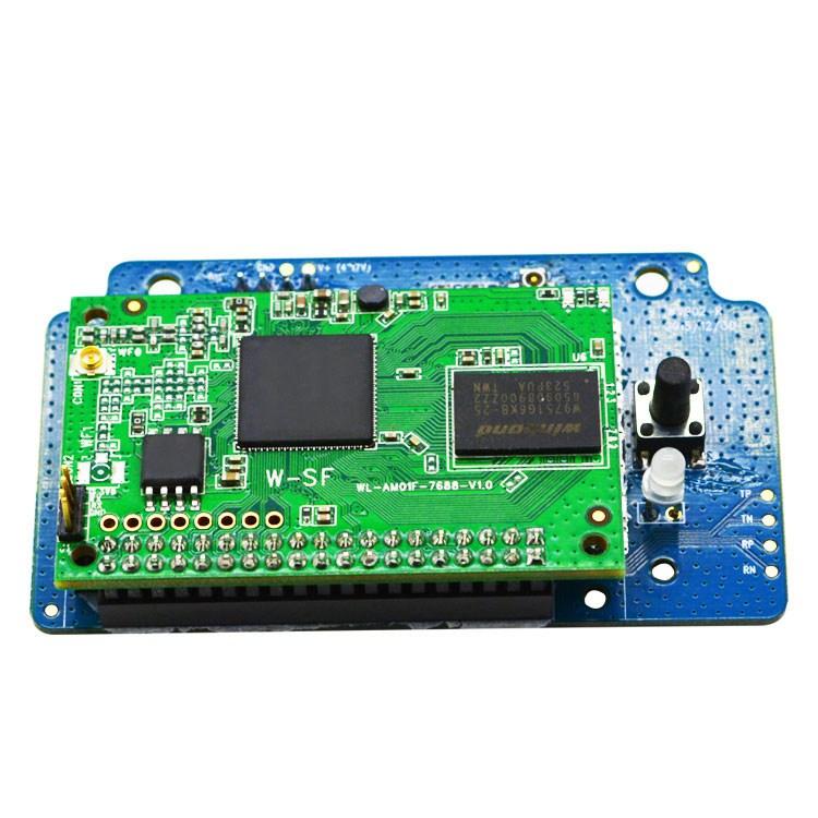 COFDM wireless receiver Long distance transmission distance and Real - time transmission system 4