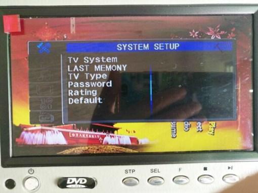 7 inch sun visor DVD player sunvisor left right side USB SD movie player black grey beige factory promotion TM-6686 7010 3