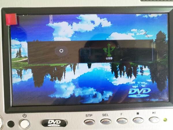 7 inch sun visor DVD player sunvisor left right side USB SD movie player black grey beige factory promotion TM-6686 7010 40