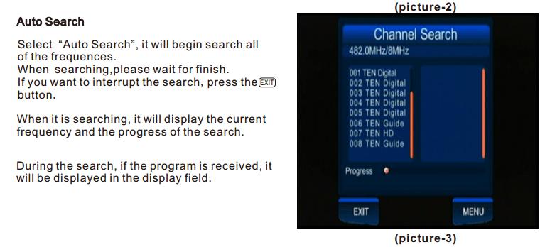 ATSC Car TV Digital receiver for USA Canada Mexico ATSC-201 6