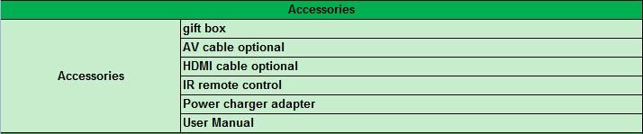VCAN1170 IPTV box Android 4.4.2 OTT DVB-T2 Supports H.265-H.264 full HD HDMI stick 14