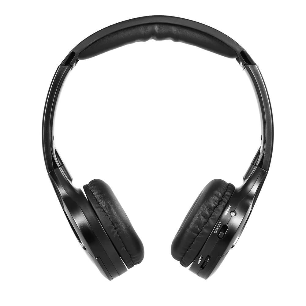 IR wireless headphone for car DVD player