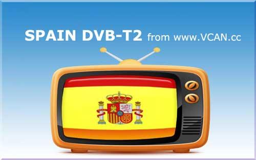Spain DVB-T2