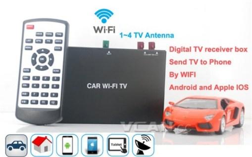 Car Wifi TV Digital TV Receiver Box send TV 1