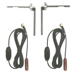 Digital waterproof TV antenna for analog and digital with amplifier 4