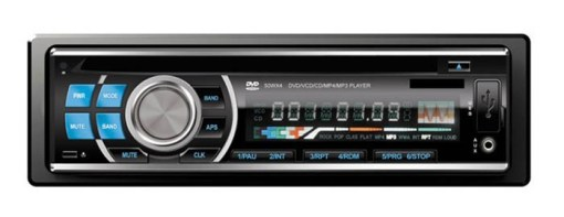 DVD DVCD CD MP3 MP4 USB compatible player Car radio 1