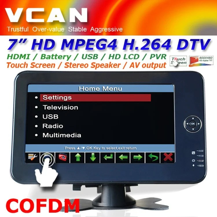 10.4 inch new panel VGA TFT touchscreen laptop monitor with speaker amplifier TM-1040 17