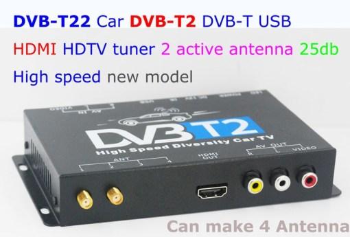 car DVB-T2 Diversity High Speed Russia Thailand 4