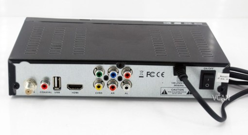 HD MPEG4 DVB-S2 Digital Satellite TV Receiver 4