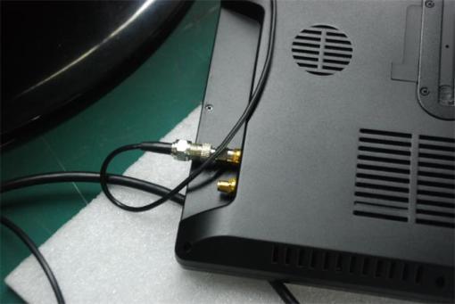 2 tuner 2 antenna 10.1 inch full seg digital TV receiver 4