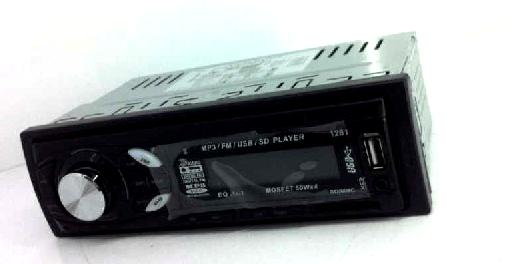 In dash One din Car USB SD MP3 player FM radio 4