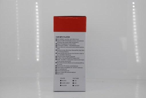 In dash One din Car USB SD MP3 player FM radio 7
