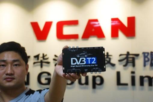 car DVB-T2 Diversity High Speed Russia Thailand 9