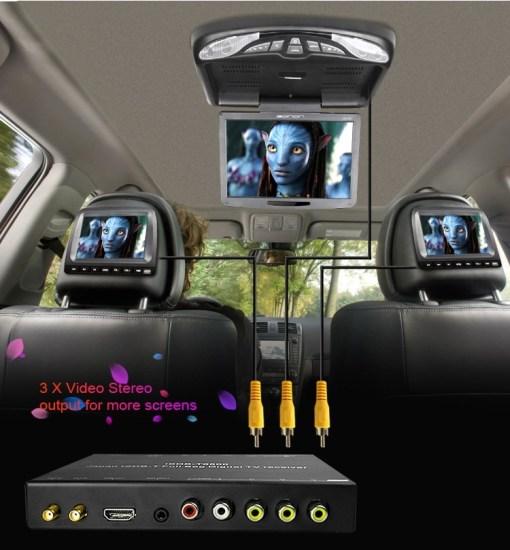 Japan car ISDB-T full with 1 seg digital tv tuner B-CAS 9